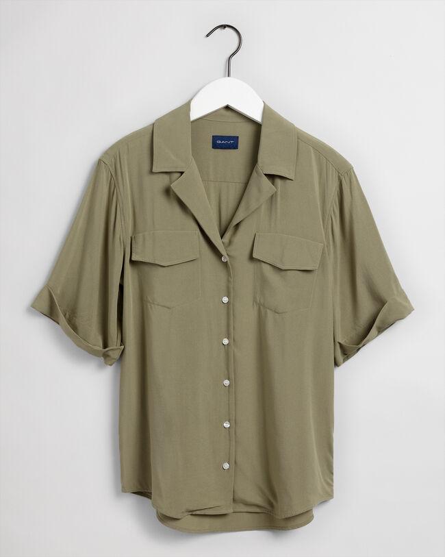 Leichte Safari Bluse