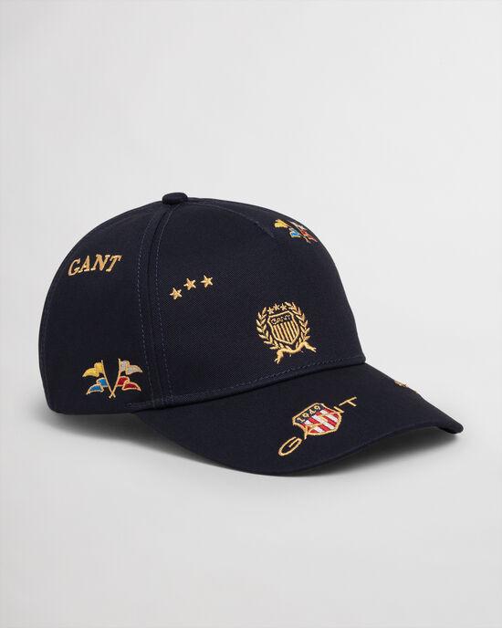 Boys Crest Cap