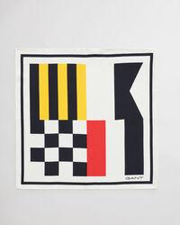 Signal Flag Einstecktuck aus bedruckter Seide