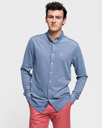Tech Prep™ Regular Fit Piqué Hemd