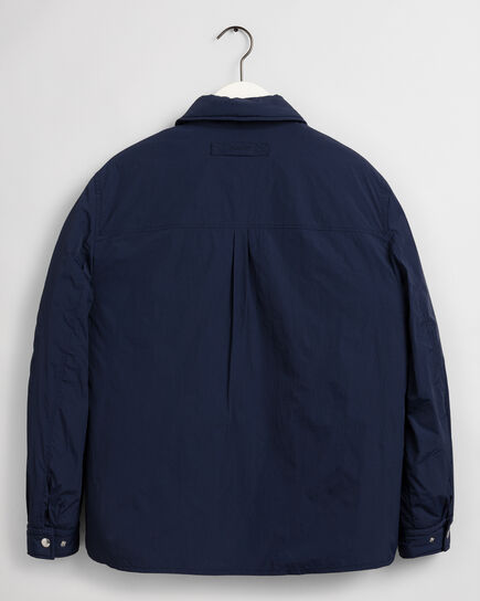 Wattierte Hemdjacke