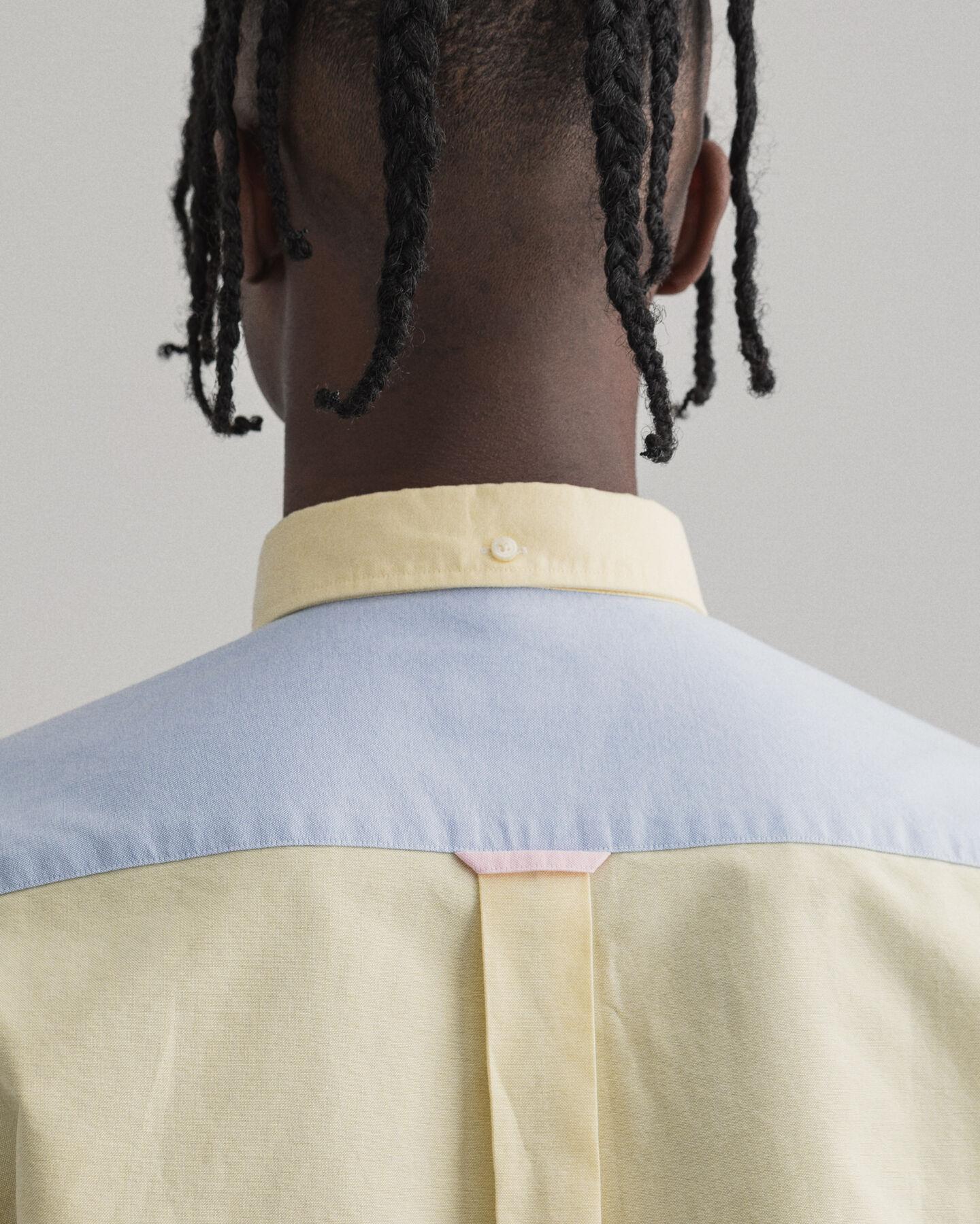 Regular Fit Hemd mit Einsätzen