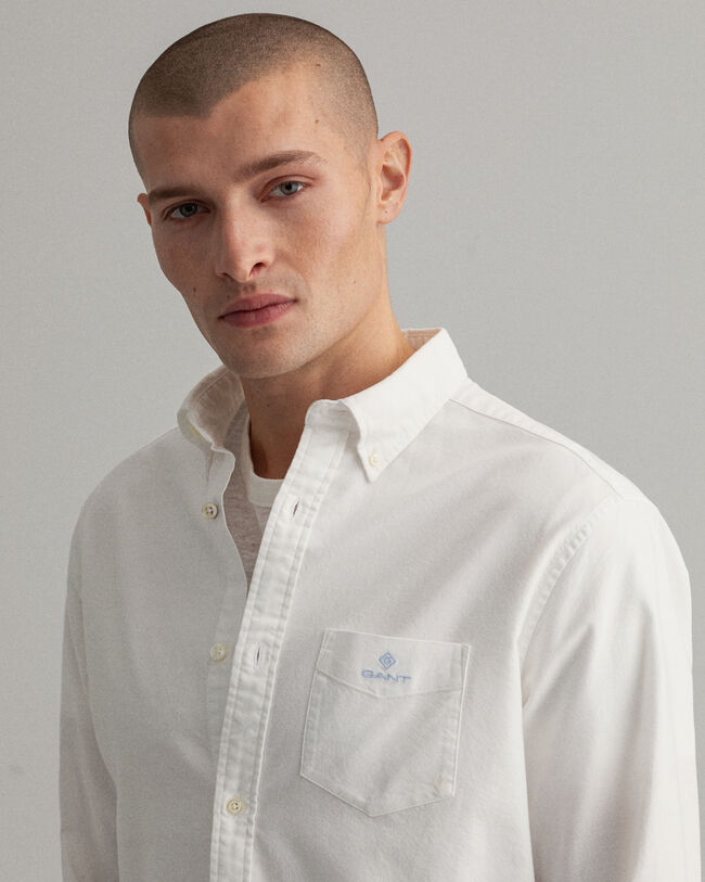 Beefy Regular Fit Oxford-Hemd