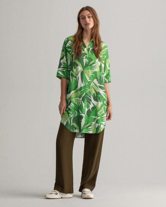 Palm Breeze Tunika mit Print