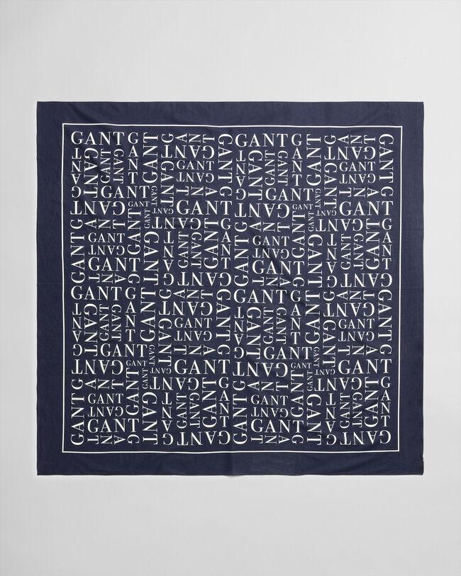 Typography Sarong mit Print