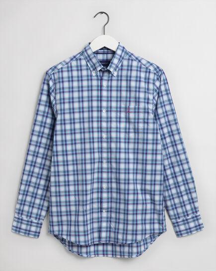 Tech Prep™ Regular Fit Hemd mit buntem Karomuster