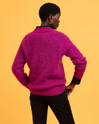 Woll Mohair V-Neck Pullover