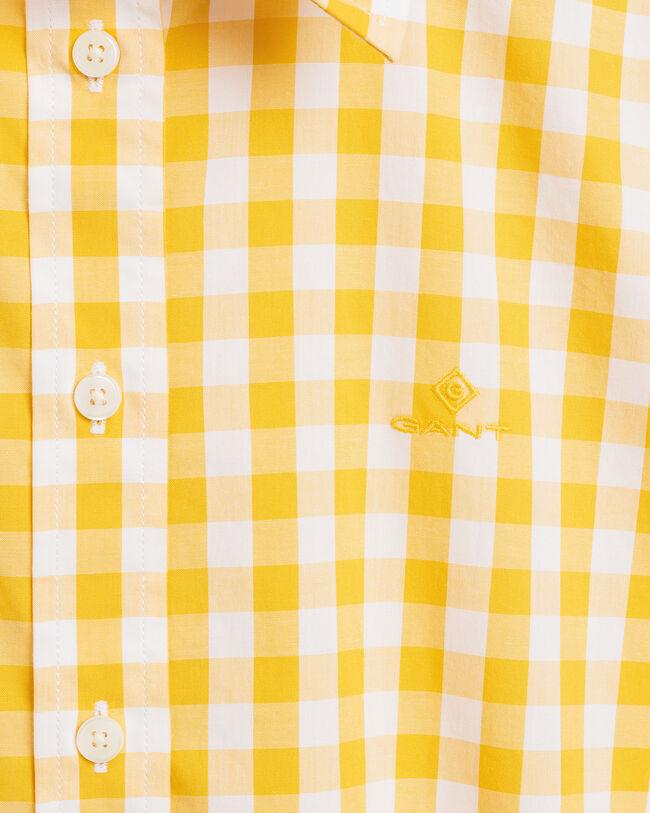 Broadcloth Bluse im Vichy-Karo