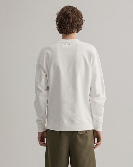 Locker Loop Rundhals-Sweatshirt