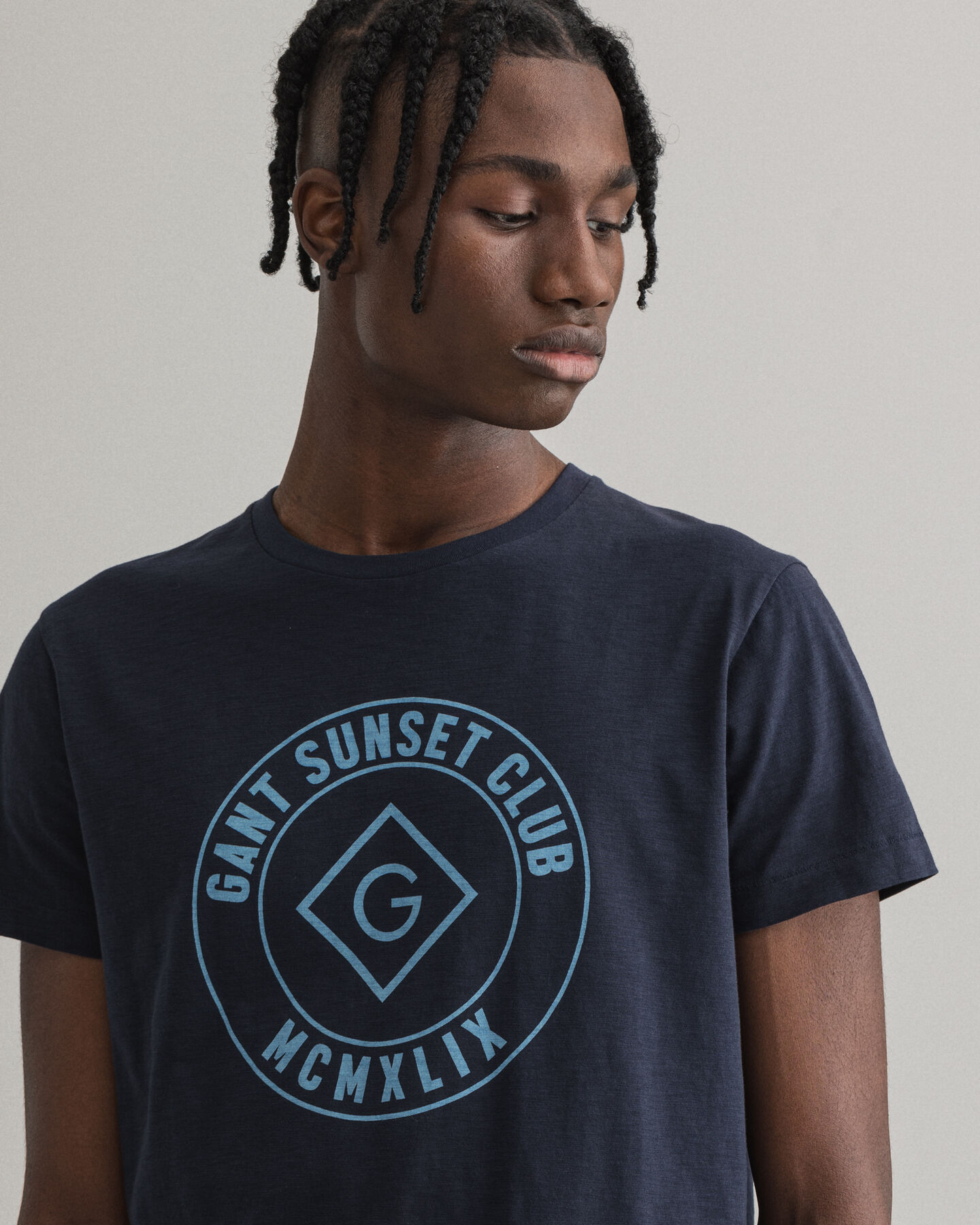 Sunset Club T-Shirt mit Print