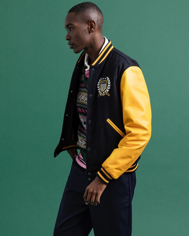 Crest GANT Varsity Jacket