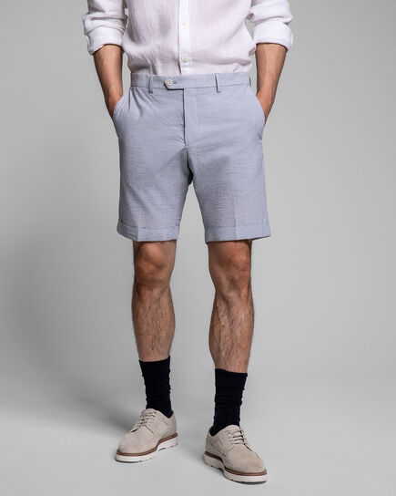 Seersucker City Shorts