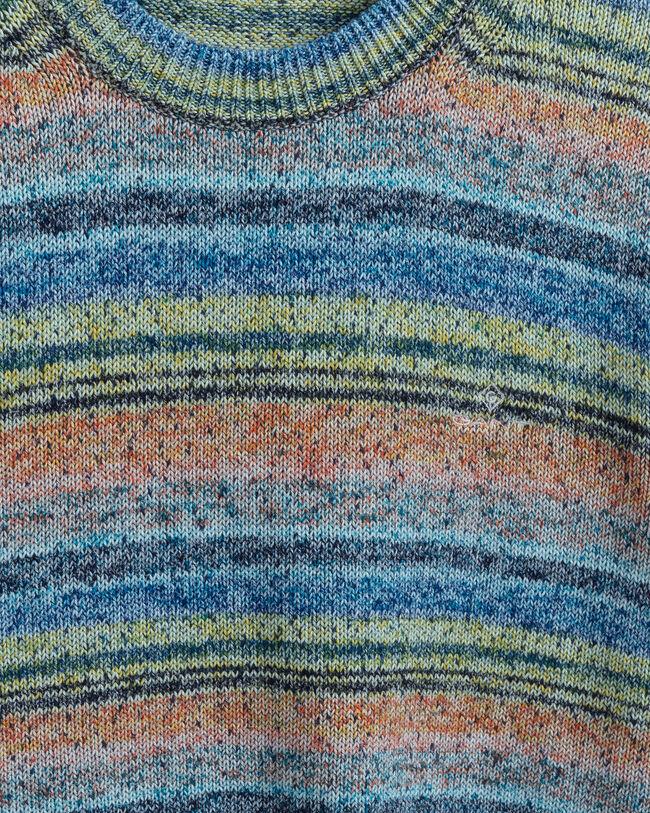 Space-Dye Rundhalspullover