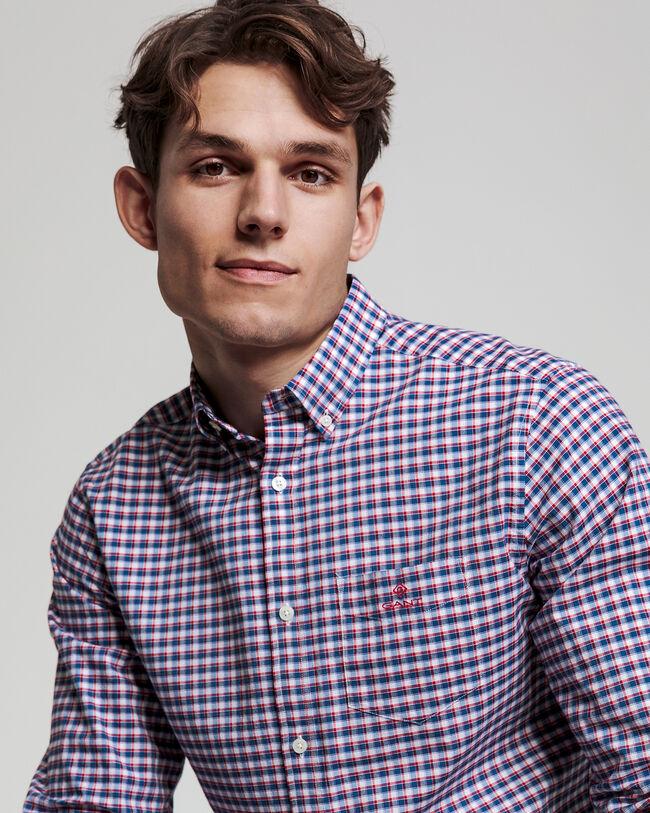 Preppy Regular Fit Oxford-Hemd mit Karomuster
