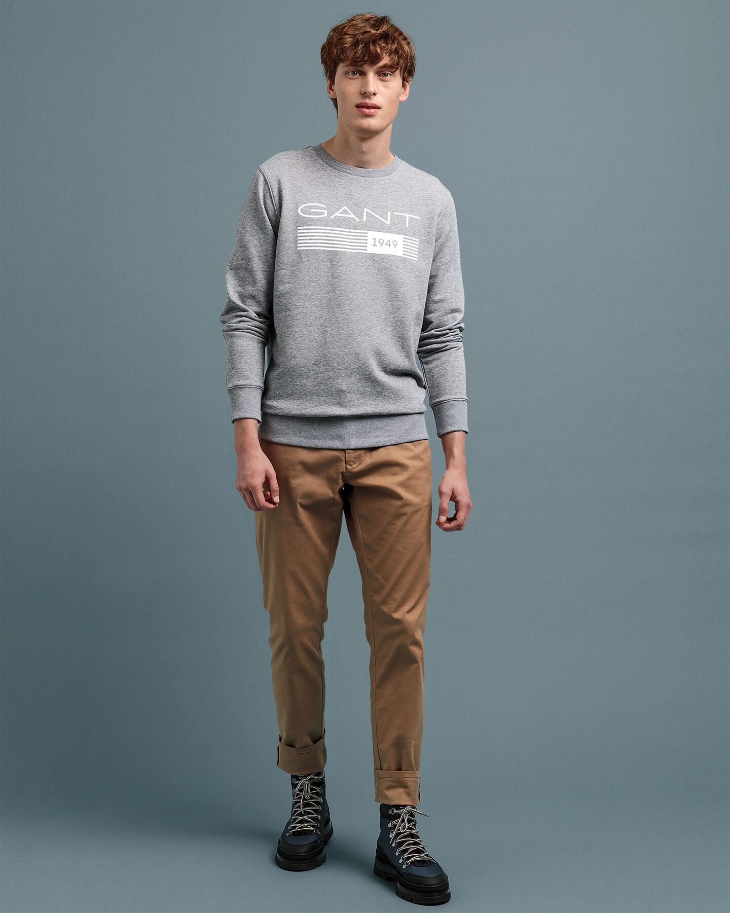 13 Stripes Rundhals-Sweatshirt