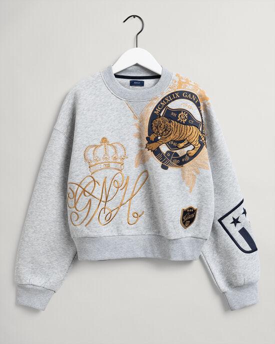 Teen Girls US Royalty Rundhals-Sweatshirt