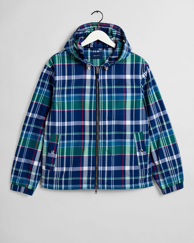 Madras Windbreaker