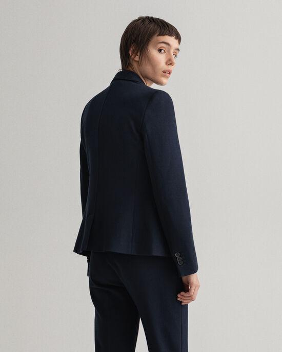 Slim Fit Jersey Blazer