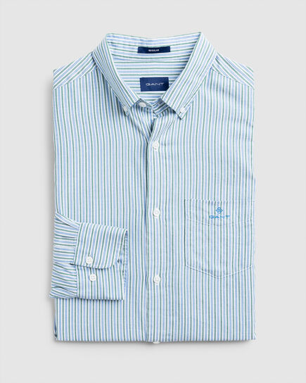 Windblown Regular Fit Oxford-Hemd mit Streifen