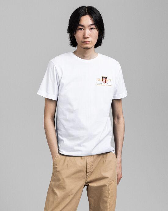 Archive Shield T-Shirt mit Stickerei
