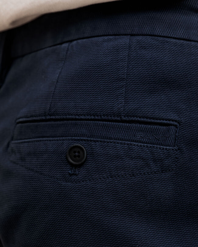 Structure Slim Fit Chinohose