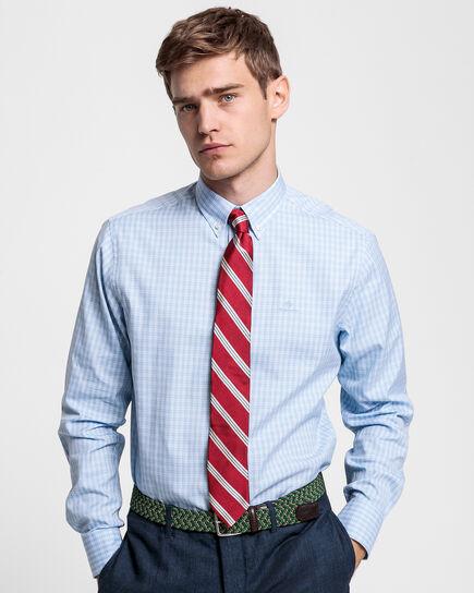 Regular Fit Pinpoint Oxford-Hemd mit Karomuster
