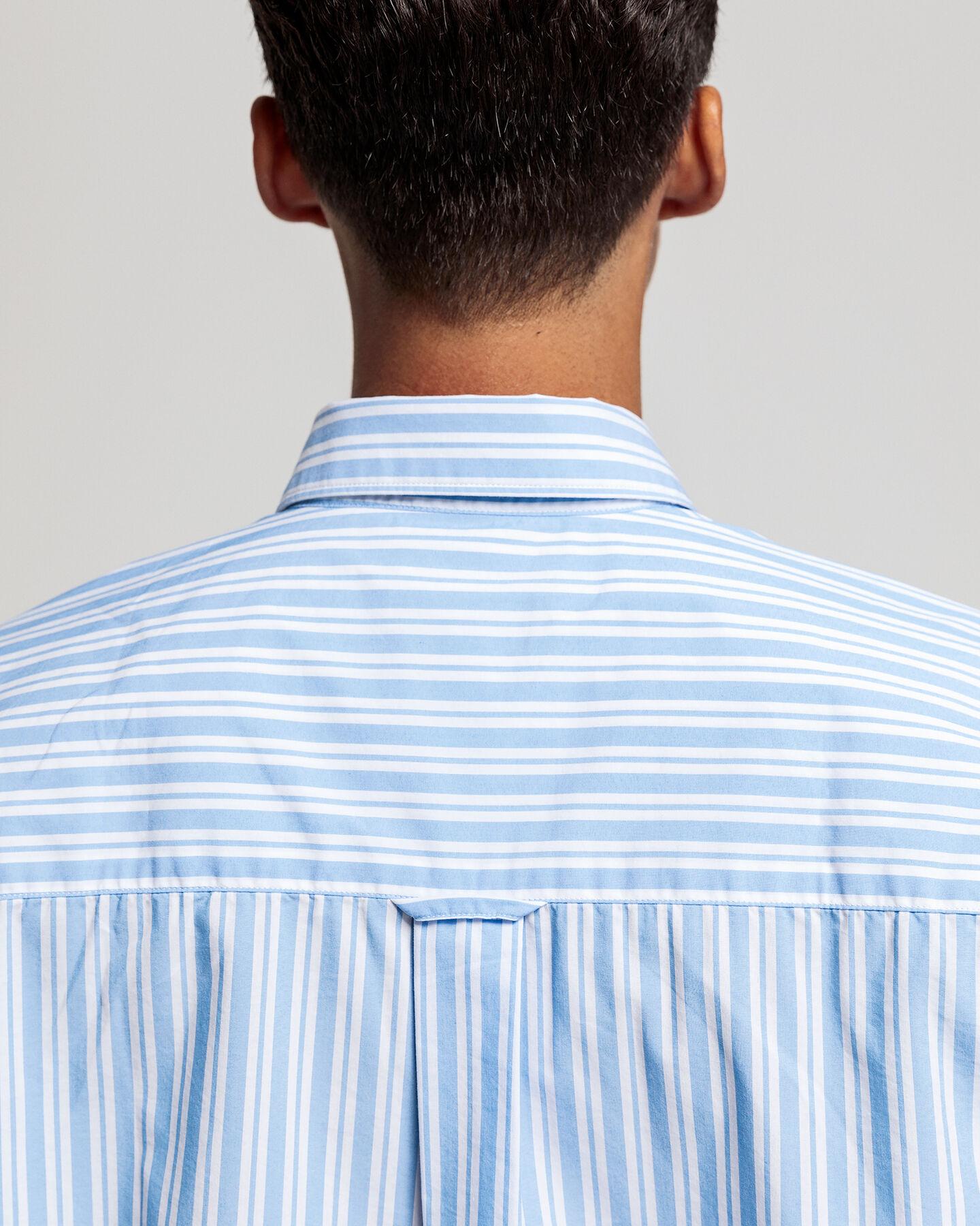 Tech Prep™ Oversize Bluse mit Streifen