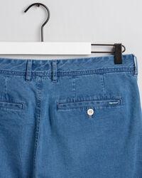 Indigoblaue Regular Fit Shorts