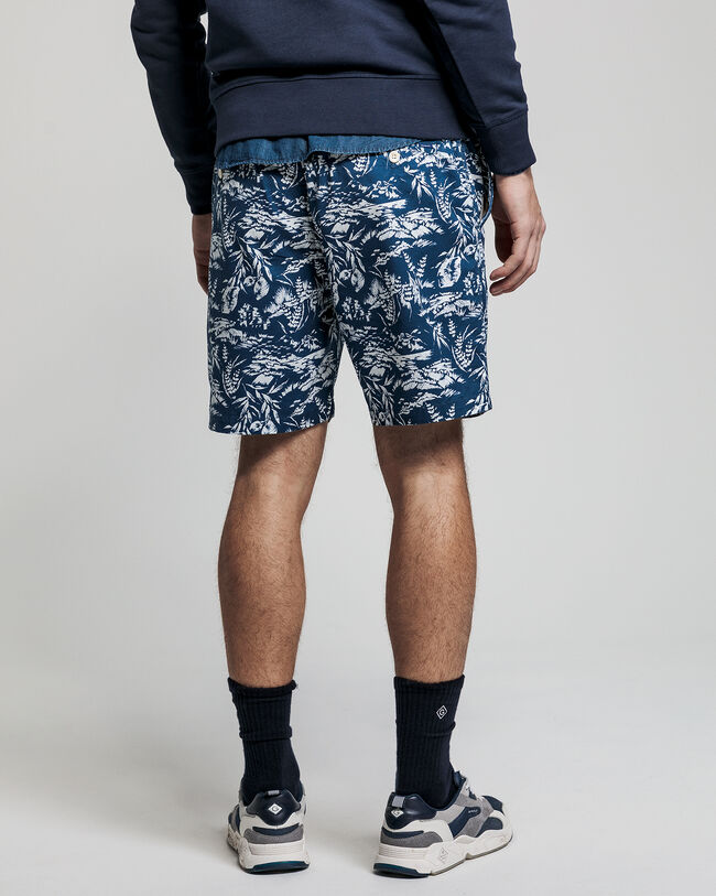 Bedruckte Relaxed Fit Logo Shorts