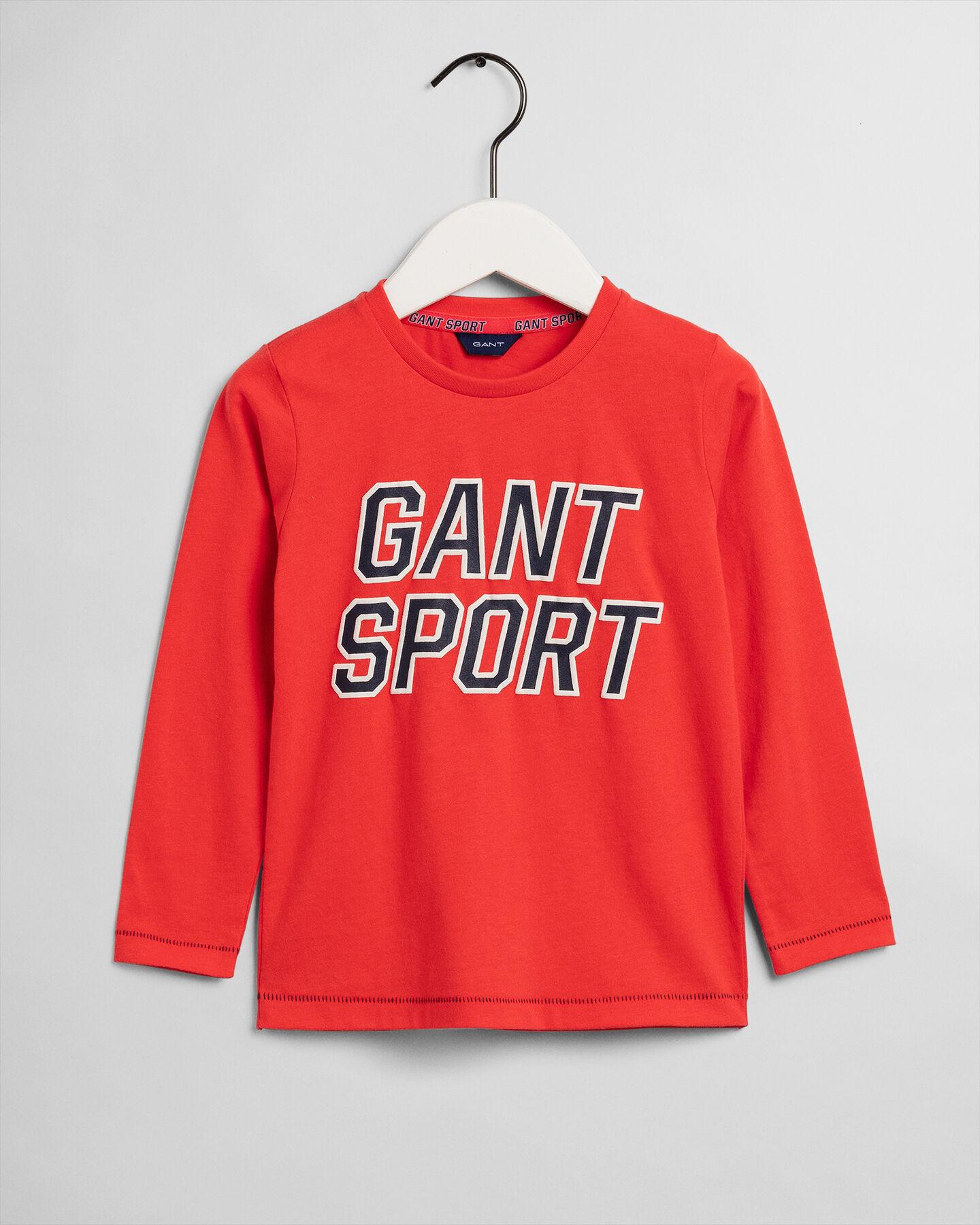 Boys Sport Langarm-T-Shirt
