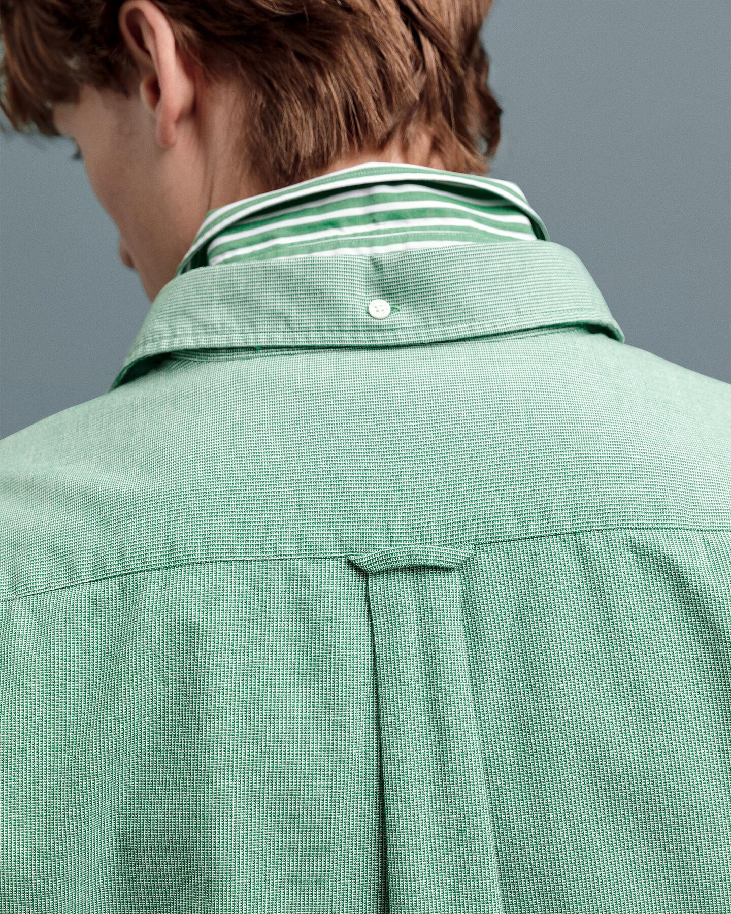 Structure Regular Fit Broadcloth Hemd