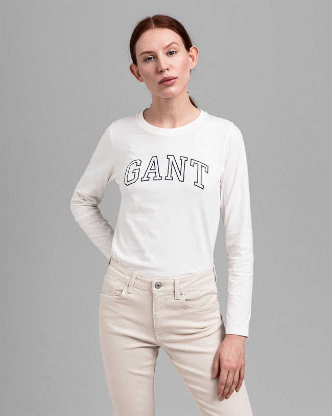 Arch Logo Langarm-T-Shirt