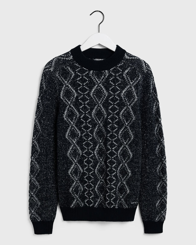 Zopfmuster Pullover