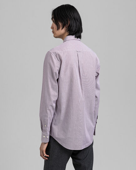 Regular Fit Banker Broadcloth Hemd