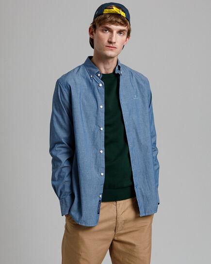 Tech Prep™ Regular Fit Hemd in Indigoblau