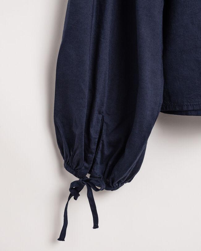 Bluse mit voluminösen Ärmeln