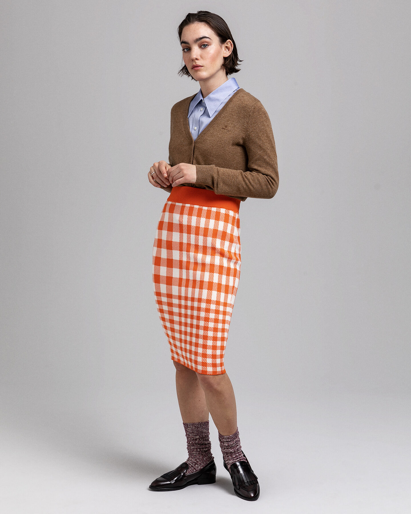 Strickjacke aus Super Fine Lambswool
