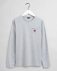 Teens Medium Shield Langarm-T-Shirt