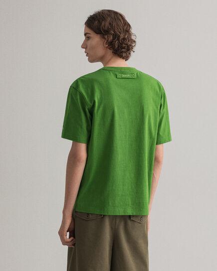 Locker Loop T-Shirt mit Tasche