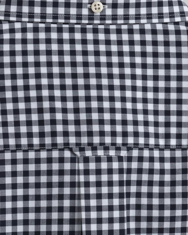 Regular Fit Broadcloth Hemd mit Vichy-Karo