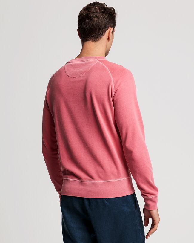 Sunfaded Rundhals-Sweatshirt