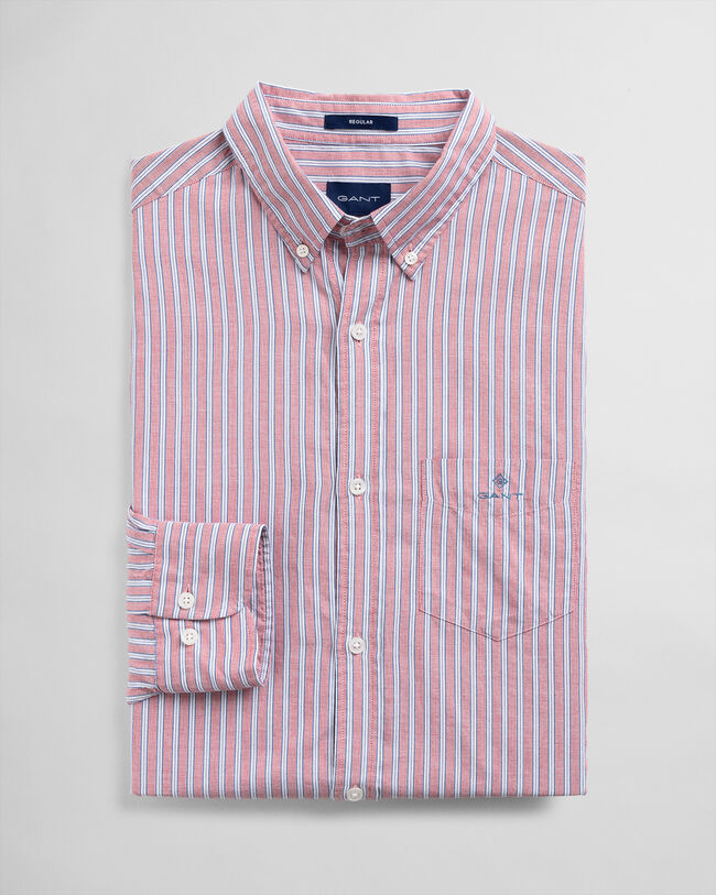 Windblown Regular Fit Oxford-Hemd mit Streifen