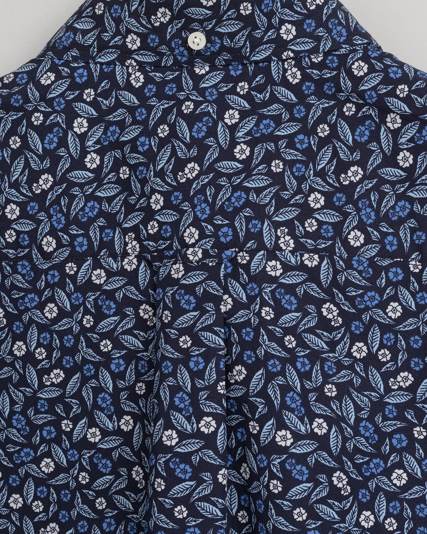 Leaf Regular Fit Hemd mit Print