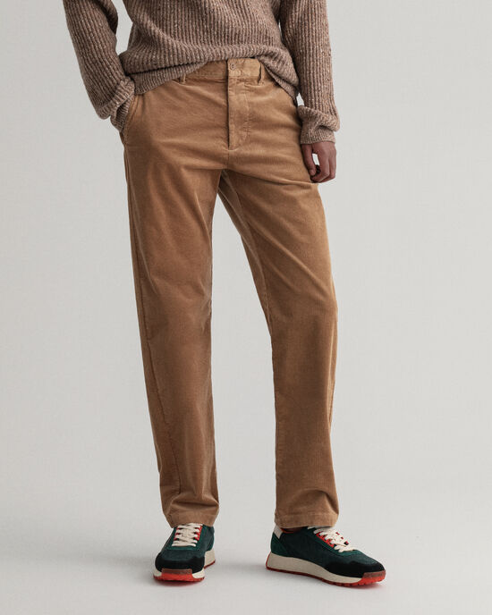 Allister Regular Fit Cord-Chinohose