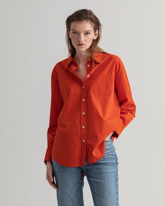 Luxury Bluse aus Popeline