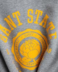 Peony Logo Rundhals-Sweatshirt