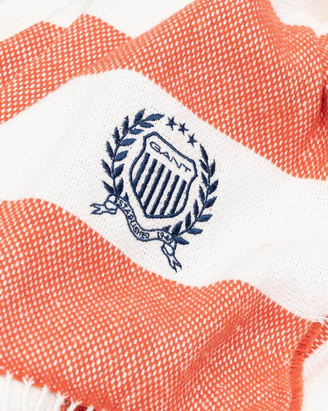 Rugby Decke mit Streifen