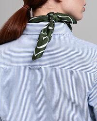 Slim Fit Banker Oxford-Bluse