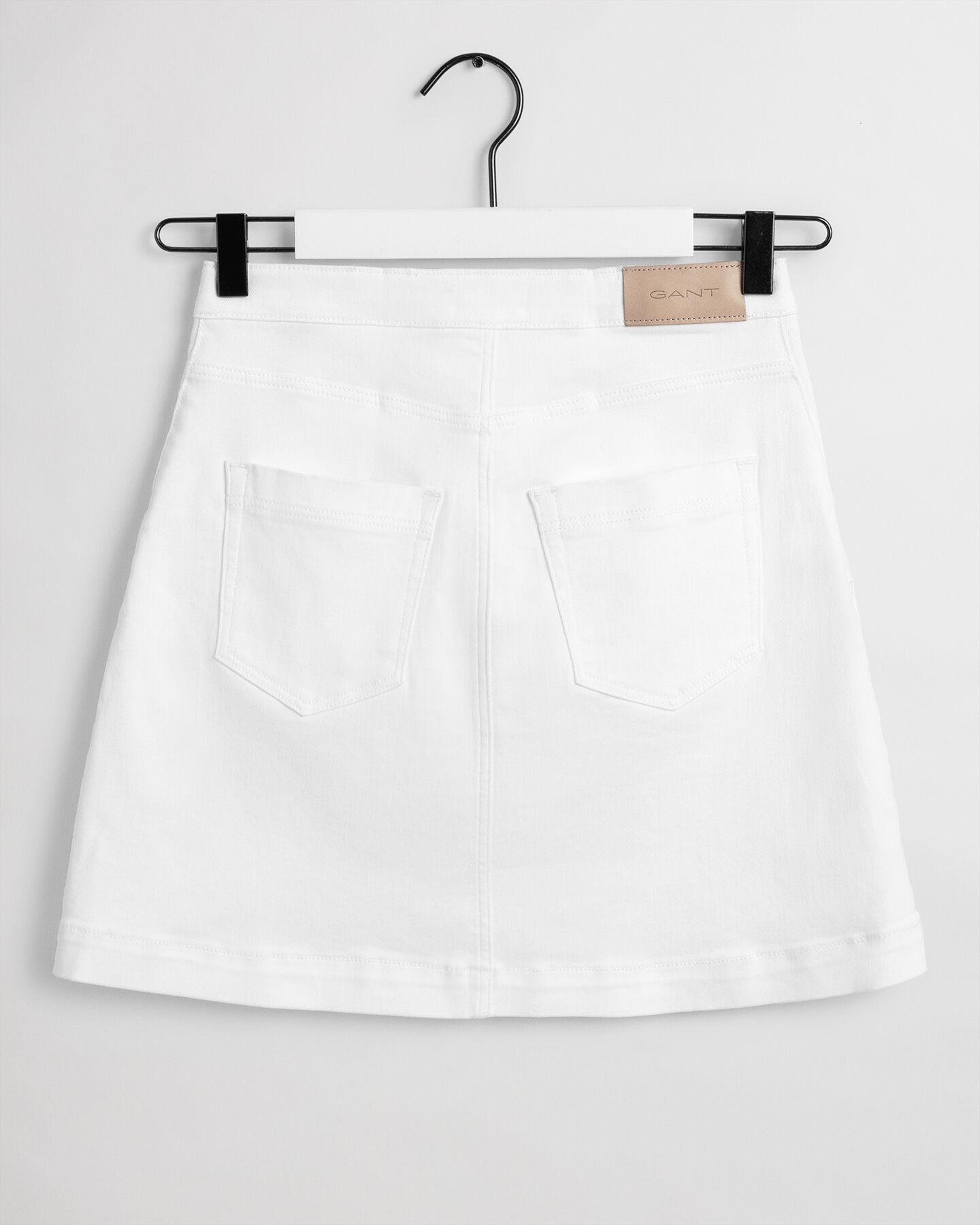 Teen Girls Twill Rock mit aufgesetzter Tasche