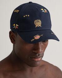 All-Over Crest Cap